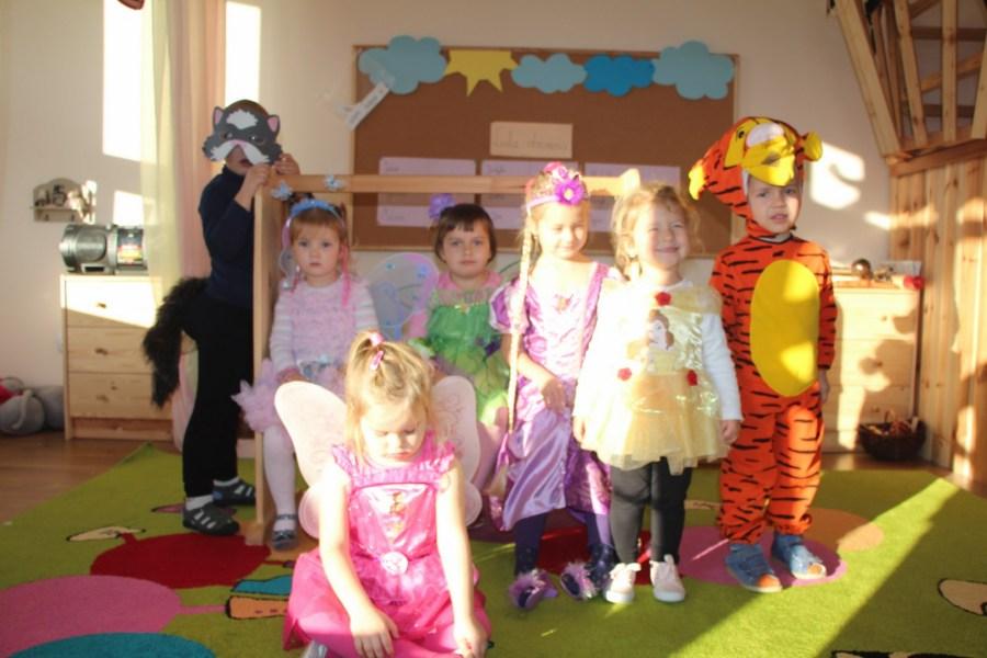 Dzień postaci Bajek - Gniazdko Przedszkole w Rajsku